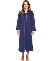 Carole Hochman - Petite Quilted Zip Robe