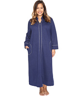 Carole Hochman - Plus Size Quilted Zip Robe