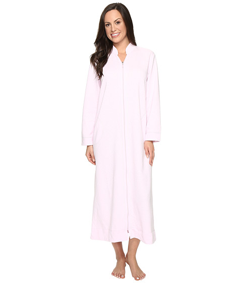 Carole Hochman Quilted Zip Robe - Lilac
