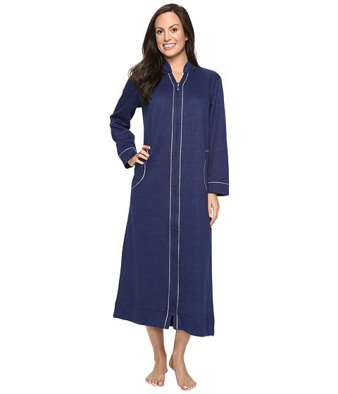 Carole Hochman Quilted Zip Robe