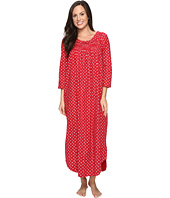 Carole Hochman - Flannel Long Sleeve Long Gown