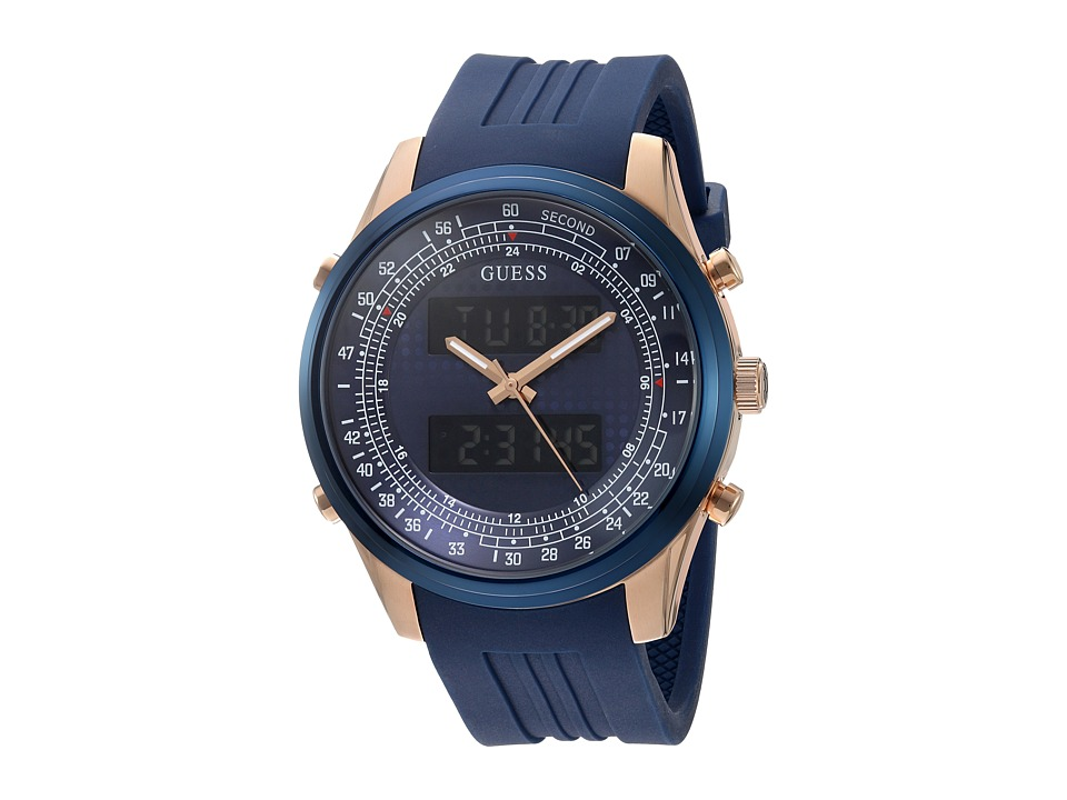 GUESS - U0862G1 (Blue) Watches