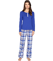 Jockey - PJ Set with Flannel Plaid Pants