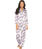 Carole Hochman - Petite Packaged Brush Back Satin Pajama