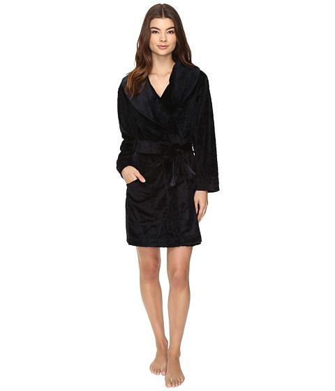 Midnight by Carole Hochman Sheared Plush Robe