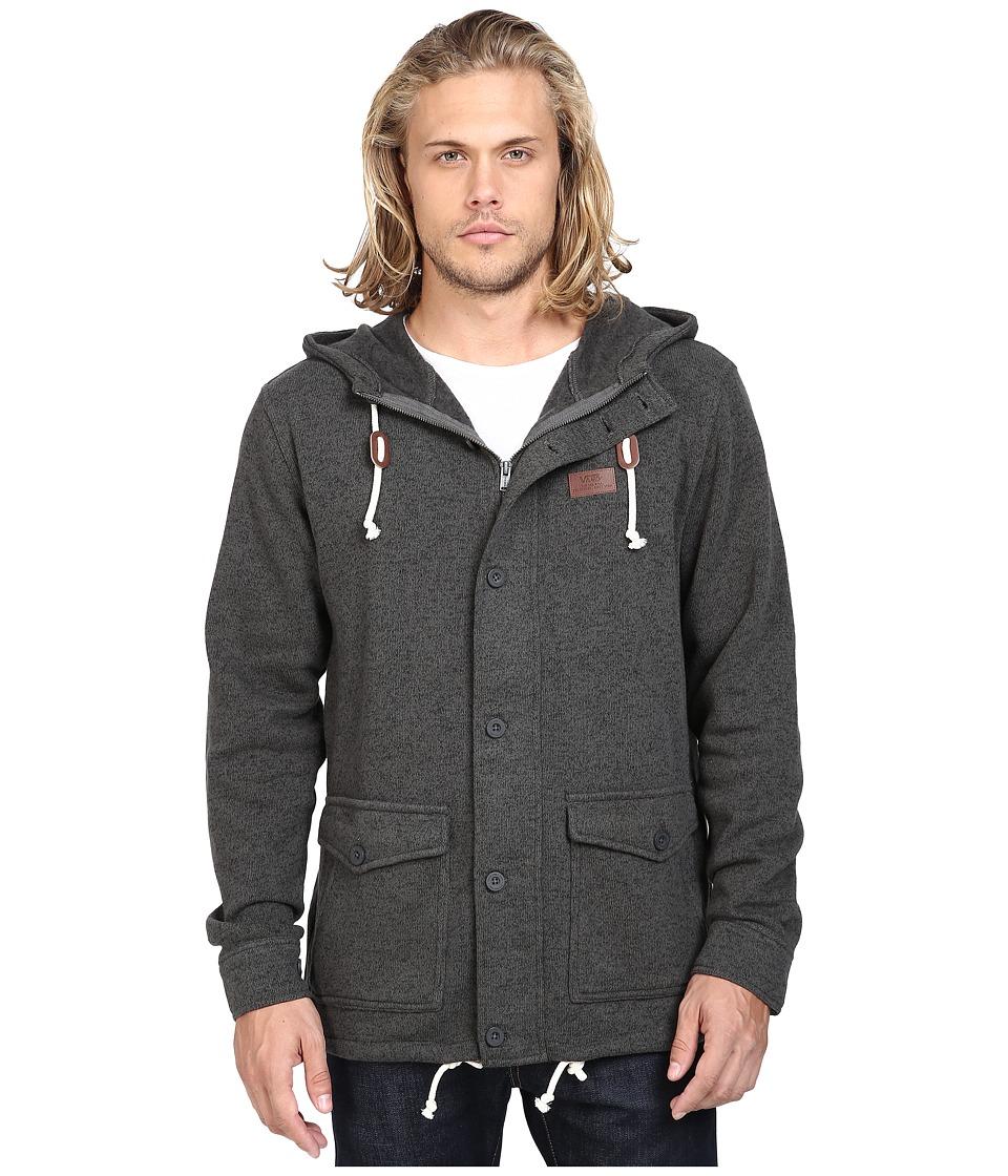 Vans - Tomlin Fleece Jacket (New Charcoal) Men