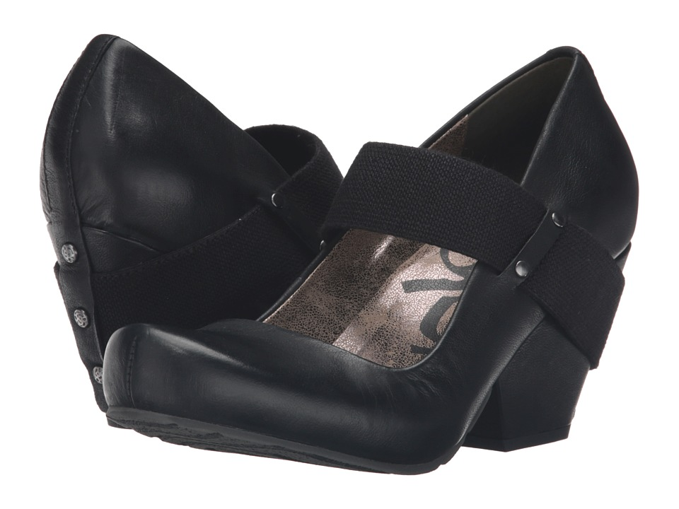 OTBT - Bespoke (Black) Womens Wedge Shoes