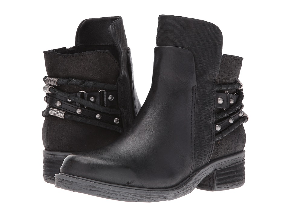 OTBT - Highstreet (Black) Womens Pull-on Boots