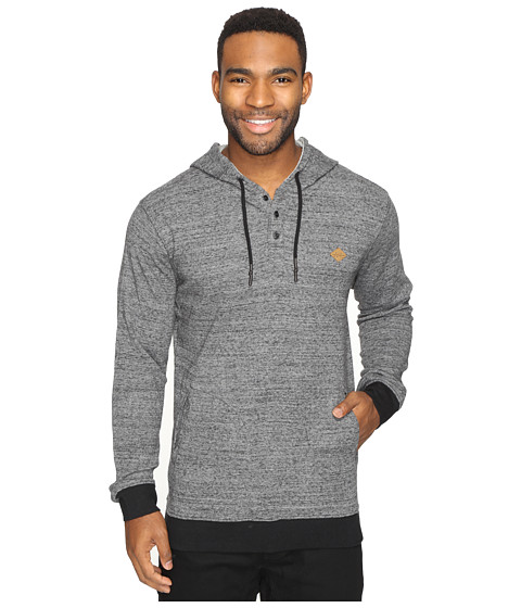 Rip Curl Whaler Hooded Pullover - Charcoal