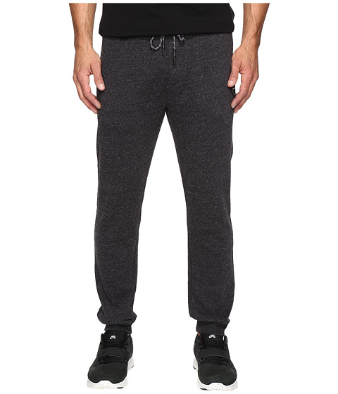 Rip Curl Surf Check Fleece Pants - Black