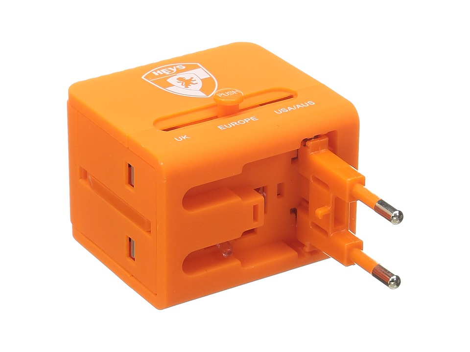 Heys America - All-In-One Travel Adapter Pro with USB