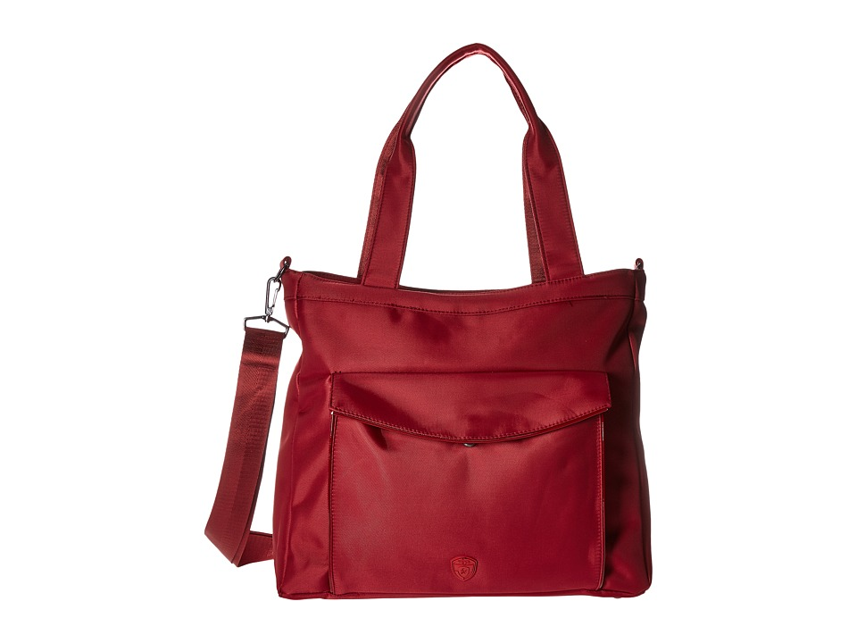 Heys America Hilite Laptop Tablet Tote with RFID (Red) Computer Bags