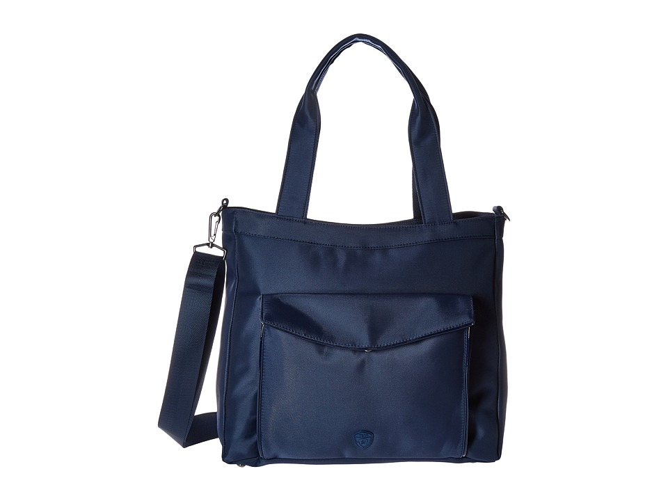 Heys America Hilite Laptop Tablet Tote with RFID (Navy) Computer Bags