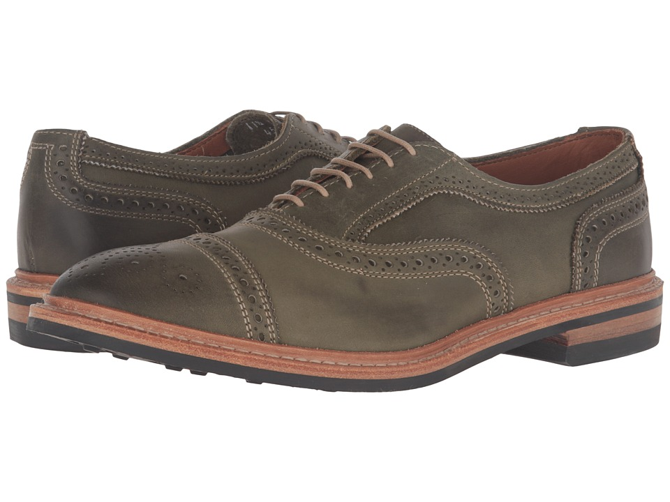 Allen-Edmonds - Strandmok (Olive Leather) Men