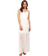 Sangria - Chain Strap Detail Grecian Goddess Inspired Gown