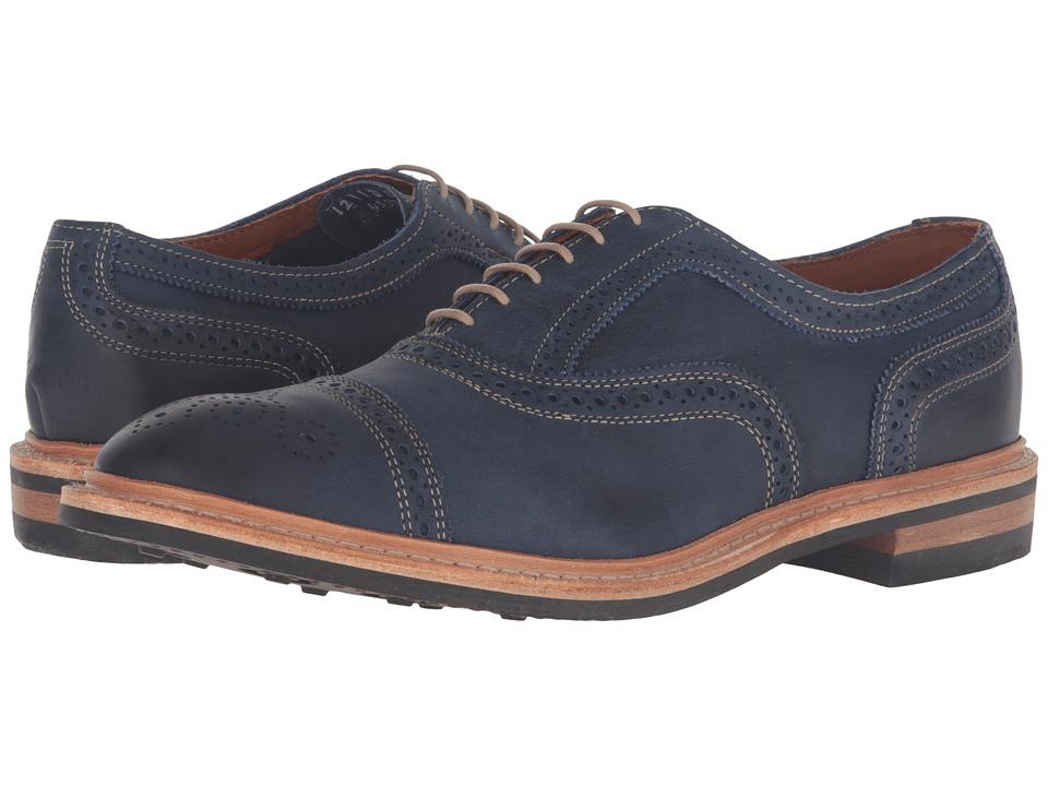 Allen-Edmonds - Strandmok (Navy Leather) Men
