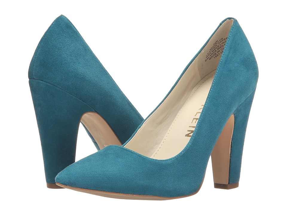 Anne Klein Hollyn (Turquoise Suede) Women