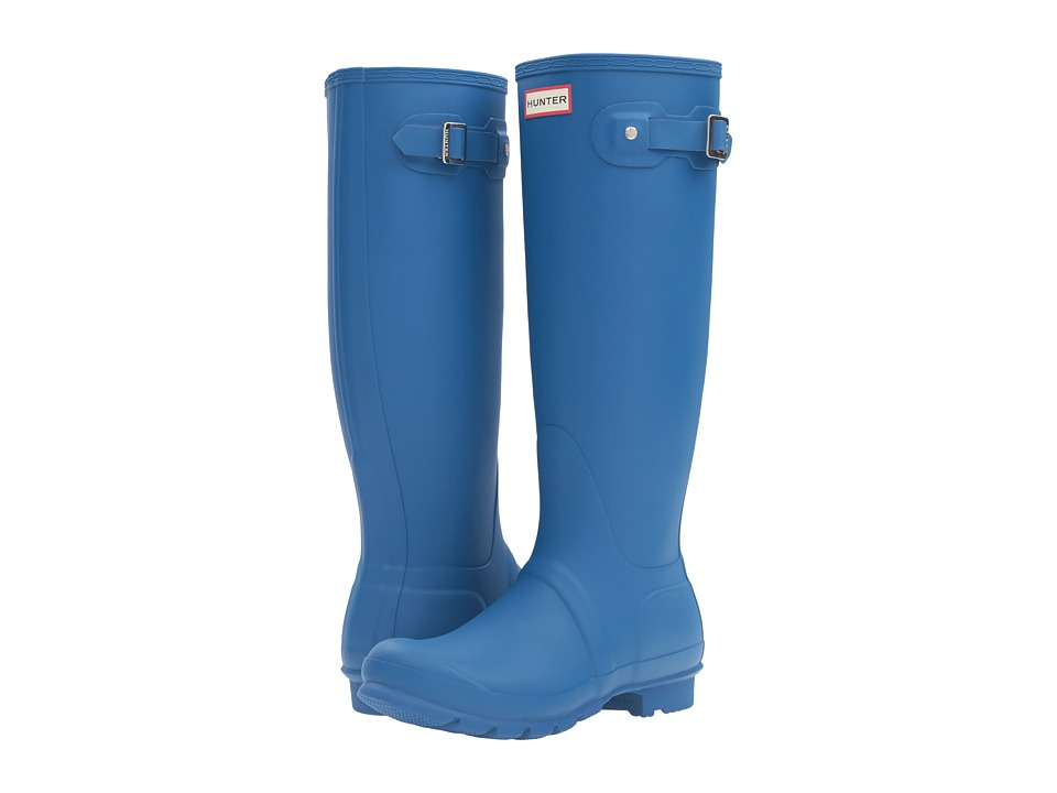 Hunter Original Tall Rain Boots (Azure) Women