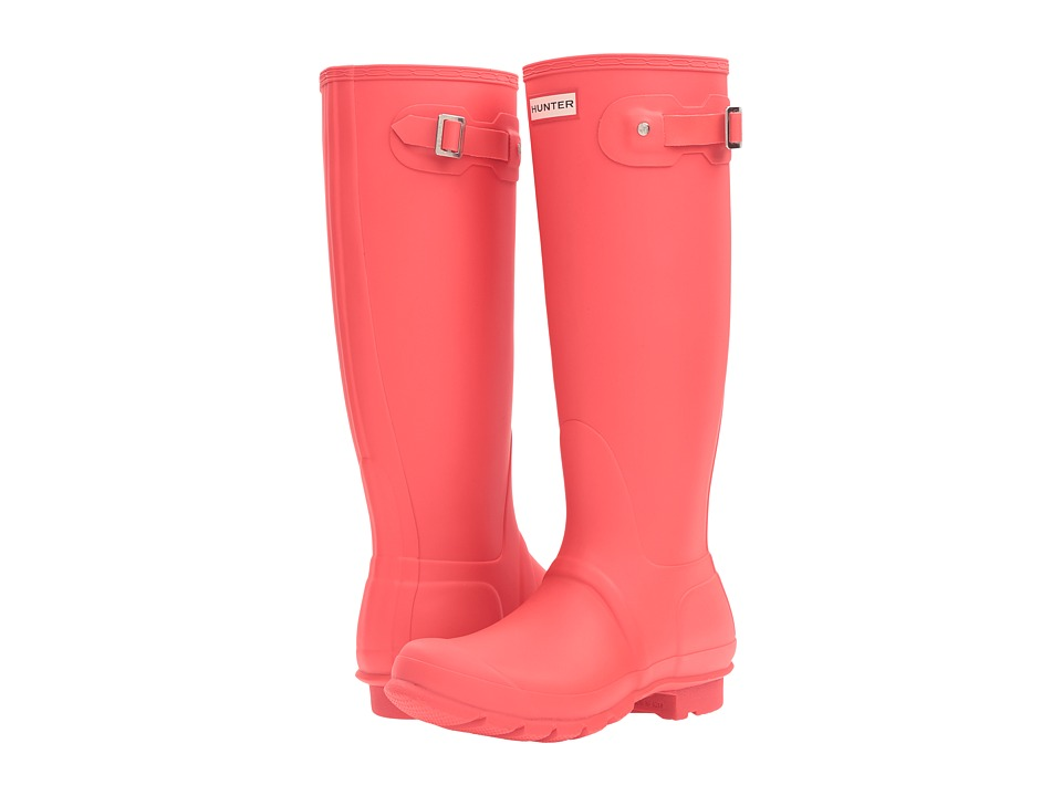 Hunter Original Tall (Bright Coral) Women