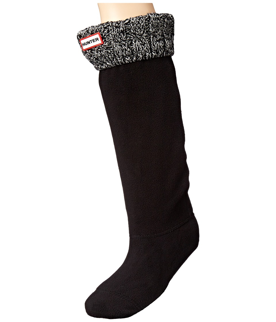 Hunter Hunter - 6 Stitch Cable Boot Sock