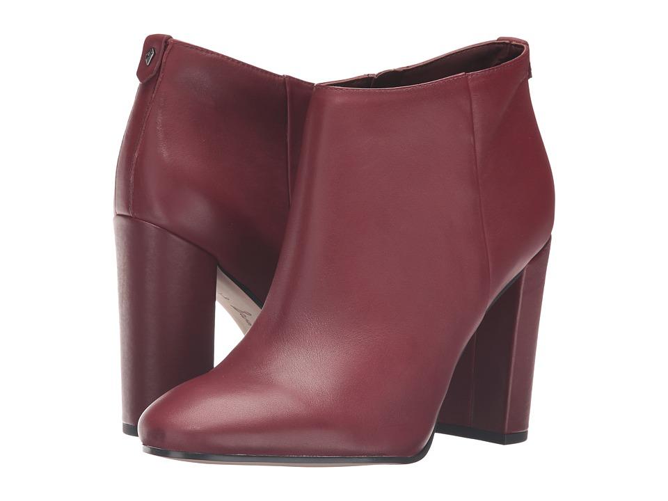 Sam Edelman - Cambell (Burnt Mahogany Modena Calf Leather) Women