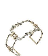 Alexis Bittar - Crystal Encrusted Oversize Link Cuff Bracelet