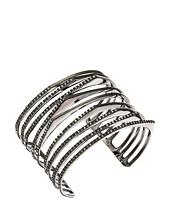 Alexis Bittar - Crystal Encrusted Origami Peeks Cuff Bracelet
