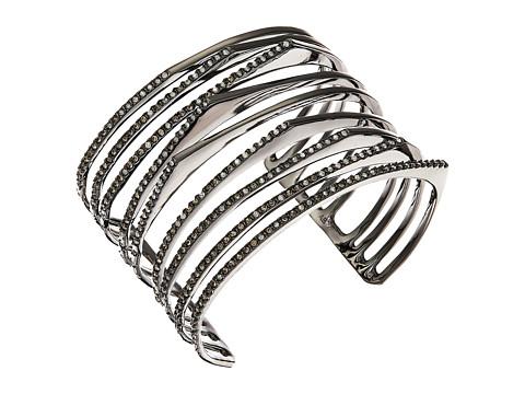 Alexis Bittar Crystal Encrusted Origami Peeks Cuff Bracelet