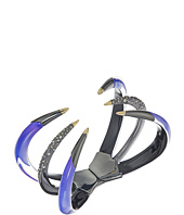 Alexis Bittar - Crystal Encrusted Gold Tipped Hinge Bracelet
