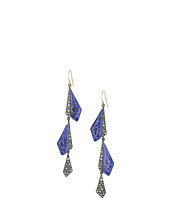 Alexis Bittar - Crystal Encrusted Origami Wire Earrings