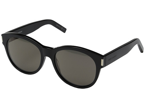 Saint Laurent SL 67 - Black/Solid Smoke