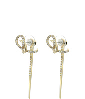 Alexis Bittar - Crystal Encrusted Ear Hook w/ Removable Spiked Jacket Earrings