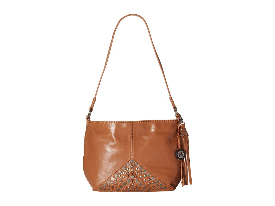 The Sak - Indio Leather Demi (Tobacco Studs) Shoulder Handbags