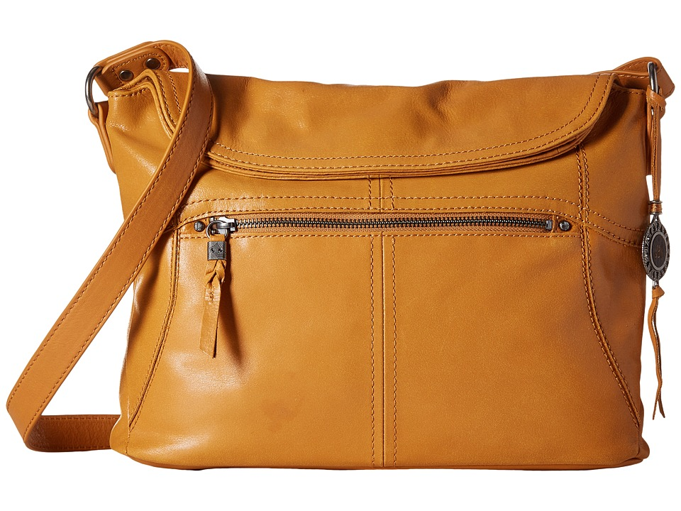 The Sak - Esperato Flap Hobo (Ochre) Hobo Handbags