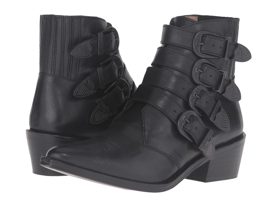 Toga Pulla AJ006 (Black Leather/Black Buckle/Limited Edition) Women