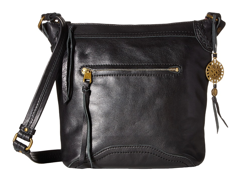 The Sak - Tahoe Crossbody (Black) Cross Body Handbags