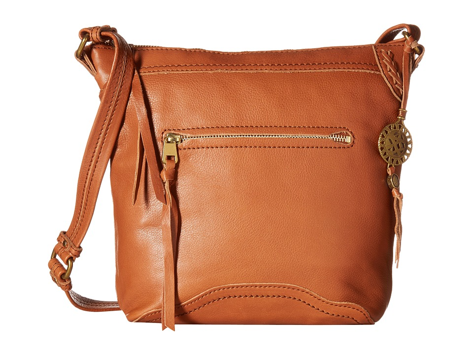 The Sak - Tahoe Crossbody (Cognac) Cross Body Handbags
