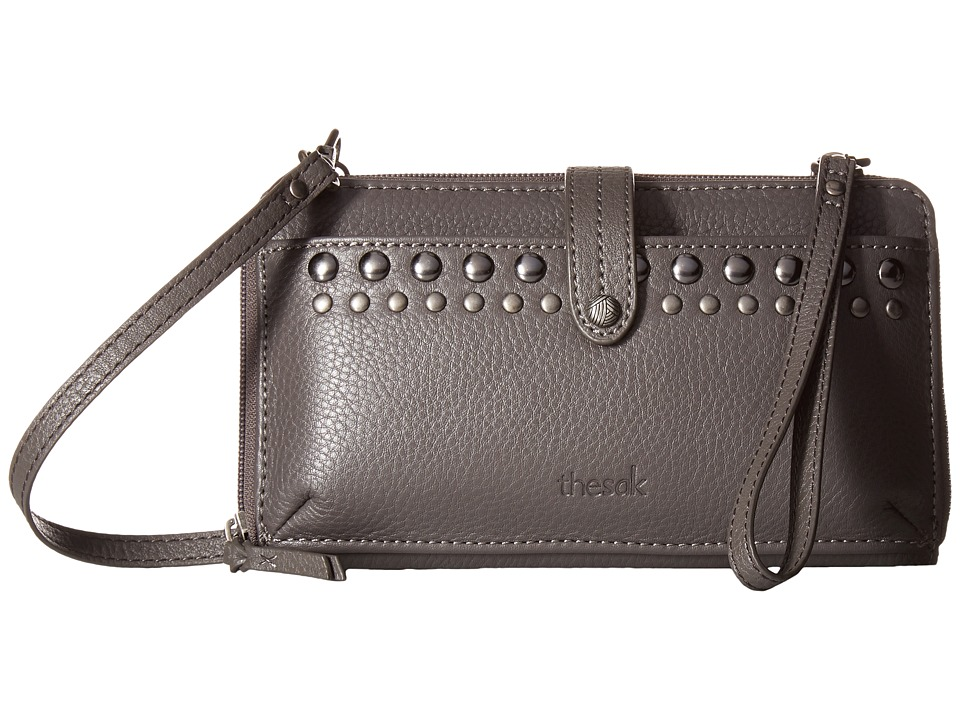 The Sak - Iris Large Smartphone Crossbody (Slate Studs) Cross Body Handbags