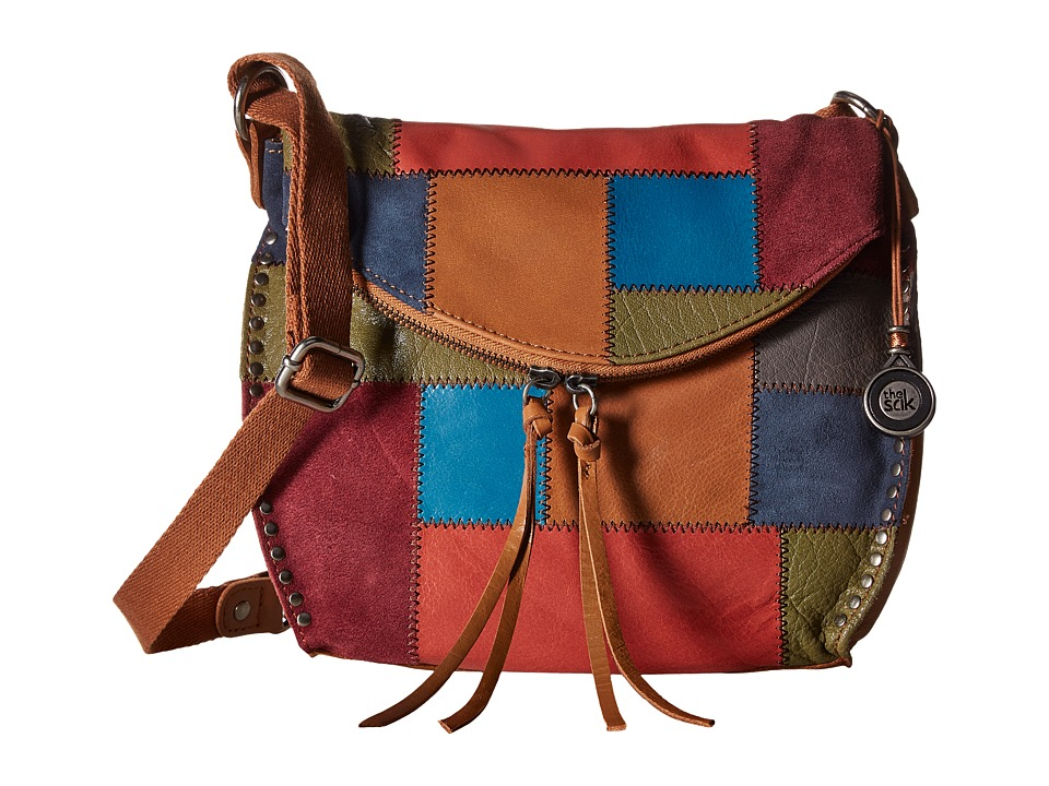 The Sak - Silverlake Crossbody (Multi Patch) Cross Body Handbags