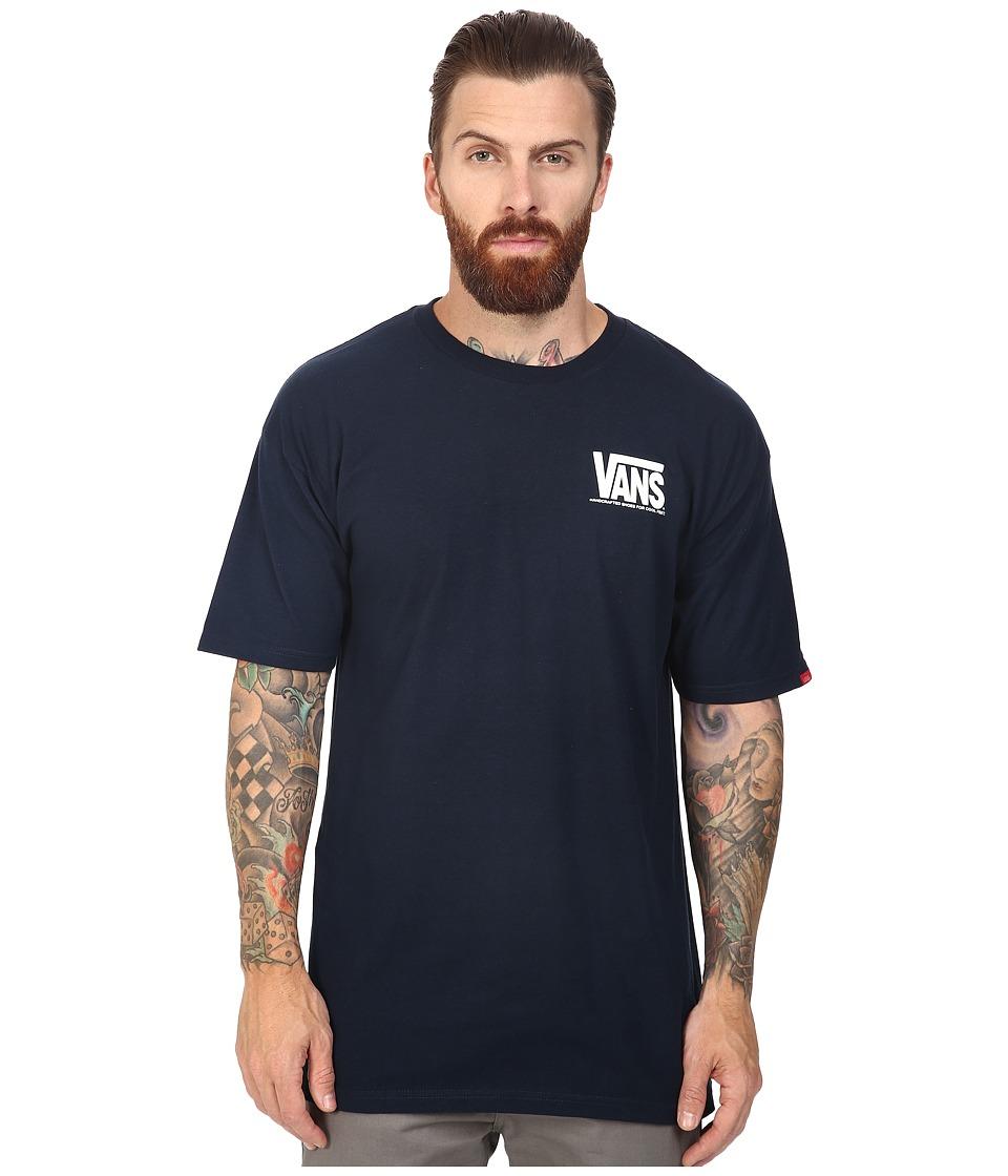 Vans - 50th Reissue Tee (Navy) Men