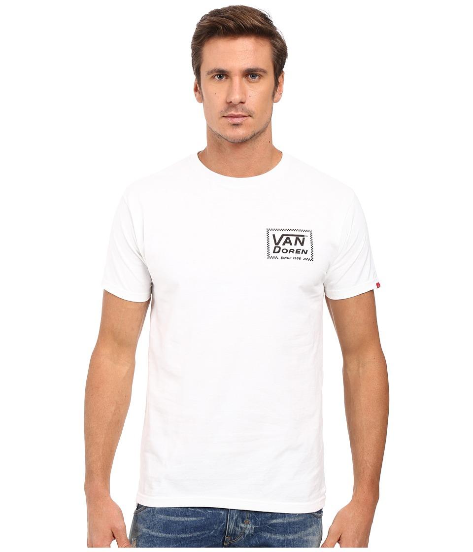Vans Van Doren Since 66 Tee (White) Men