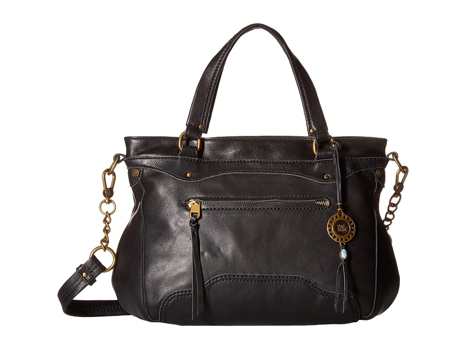 The Sak - Tahoe Satchel (Black) Satchel Handbags