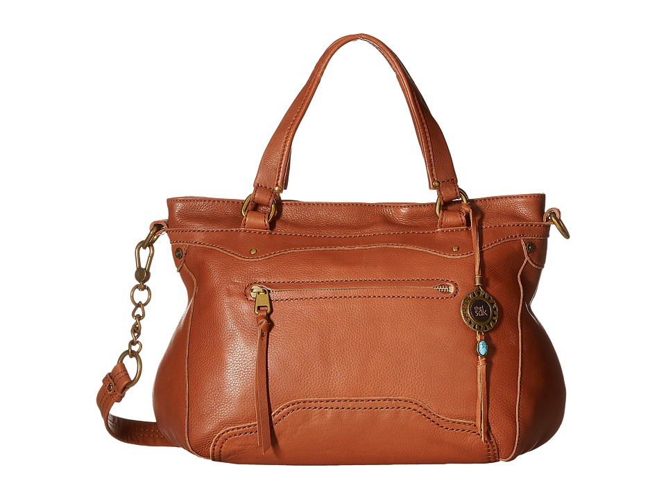 The Sak - Tahoe Satchel (Cognac) Satchel Handbags