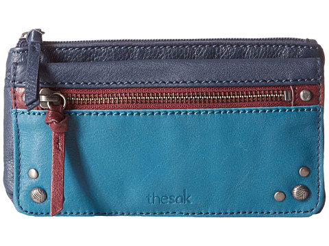 The Sak Sanibel Flap Wallet - Multi Block