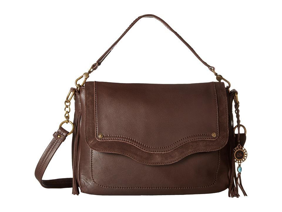 The Sak - Tahoe Messenger (Mahogany Fringe) Messenger Bags