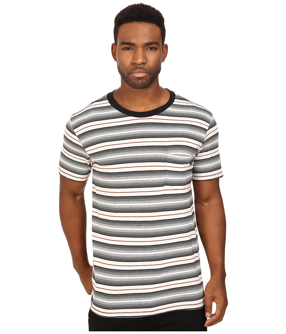 Obey - Croft Pocket Tee (Black Multi) Men