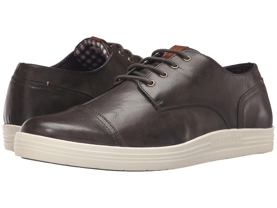 Ben Sherman - Payton Cap Toe (Olive) Men