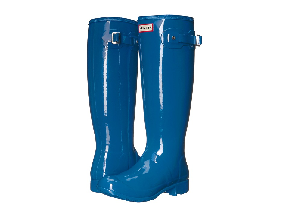 Hunter Original Tour Gloss (Azure) Women