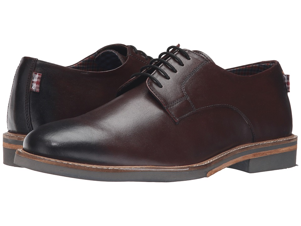 Ben Sherman Julian Plain Toe (Burgundy) Men