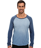 True Grit - Genuine Indigo Knit Long Sleeve Slub Raglan Tee